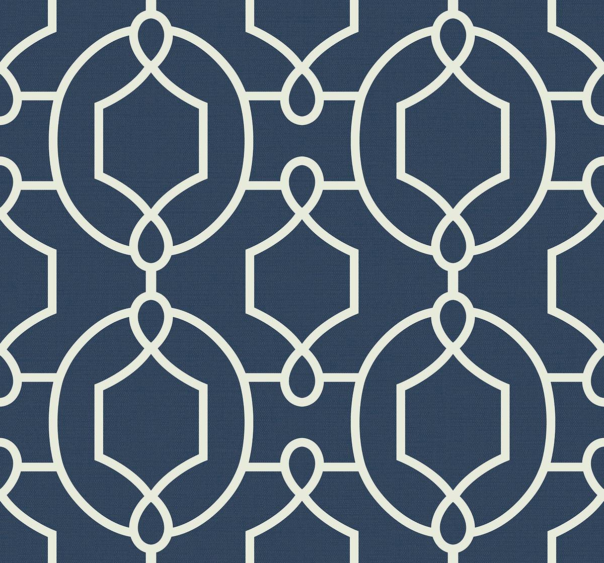 Tapeta Marynistyczna Geometryczna Geometria Granatowa The